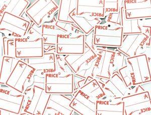 値上げのイメージ画像